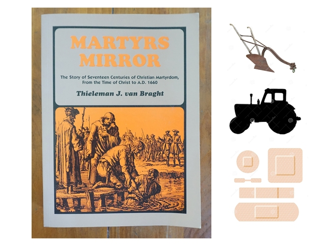 Maytyr's Mirror, Plough, Tractor, Adhesive Bandages, courtesy of the internets