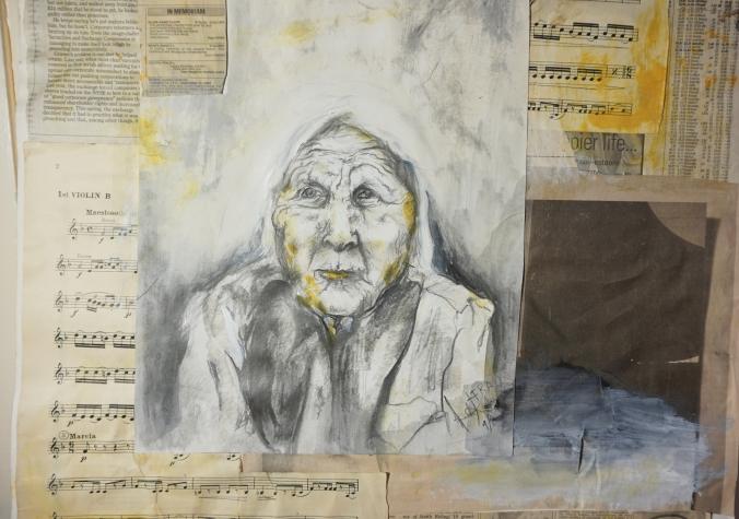 No Words Detail 2 by Amanda K Gross