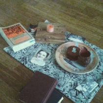 WWG3 Family History Altar; Photo by Amanda K Gross